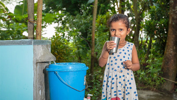 Providing Clean Water to Needy People:
